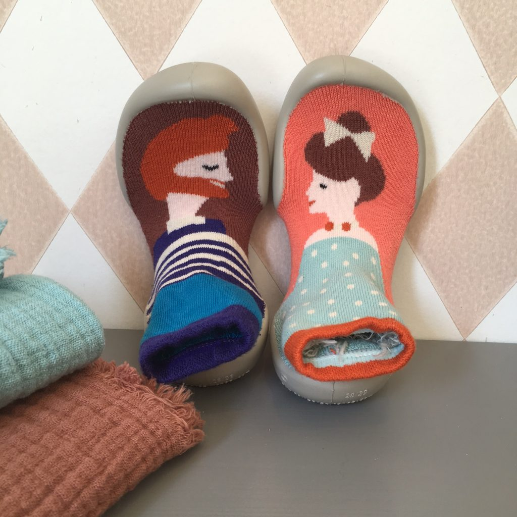 *Nouveau à la boutique* Les chaussons-chaussettes Le Collégien made in France